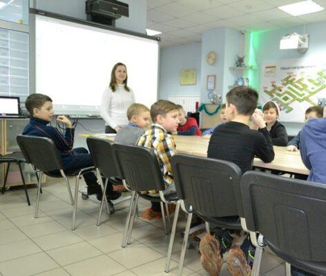 Детский английский лагерь